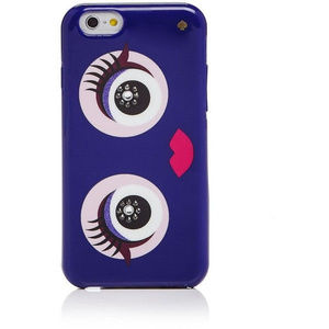 Kate Spade Jeweled Monster iPhone 7 8 CASE PURPLE